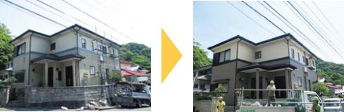 住宅の外壁・屋根塗装工事とは?