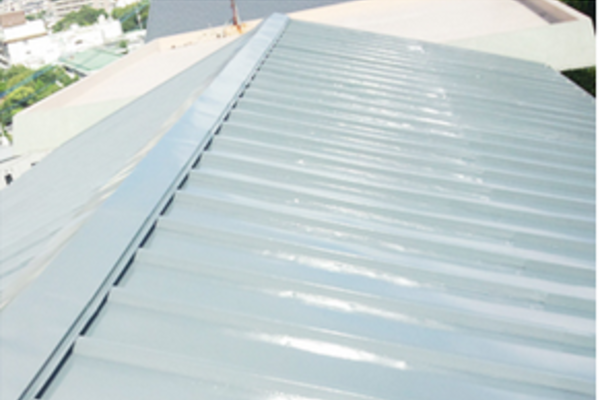 長崎市 I様邸 屋根塗装 トタン屋根