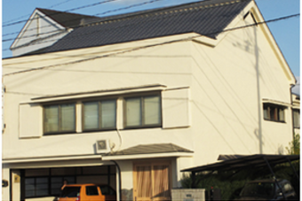 長崎市 Y旅館 全面塗装の施工後画像