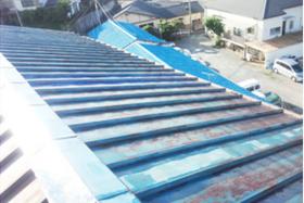 長崎市 I様邸 屋根塗装 トタン屋根の施工前画像